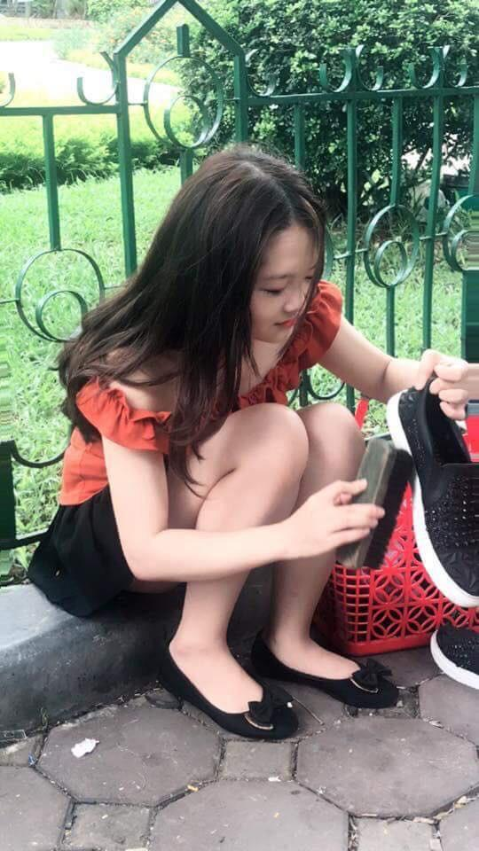 Bị nghi sống ảo khi đăng ảnh ngồi bên đường đánh giày, gái xinh Hải Dương shock nặng vì loạt tin nhắn khiếm nhã-2