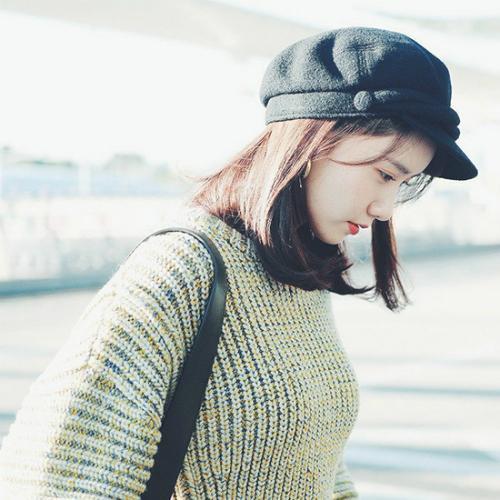 Mũ beret cổ điển phủ sóng tủ đồ sao Hàn mùa thu 2018 - ảnh 2
