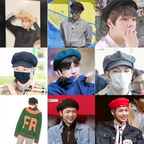 Mũ beret cổ điển phủ sóng tủ đồ sao Hàn mùa thu 2018 - ảnh 15
