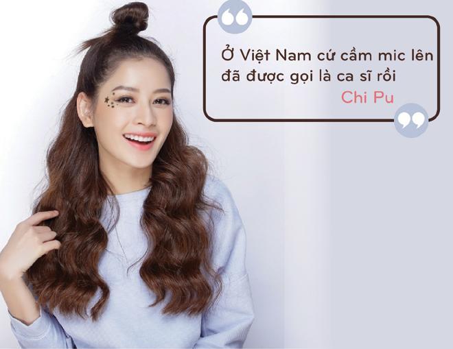 Cách đây 1 năm Chi Pu từng gây náo loạn showbiz khi tuyên bố đi hát: Từ hôm nay hãy gọi tôi là ca sĩ-1