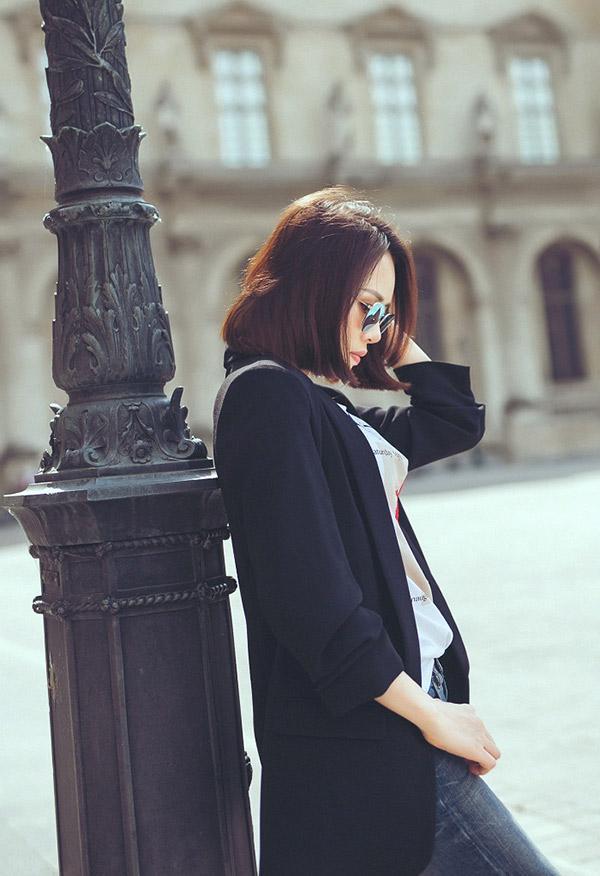 Doanh nhân Sarah Tú 'cực chất' ở Paris-3