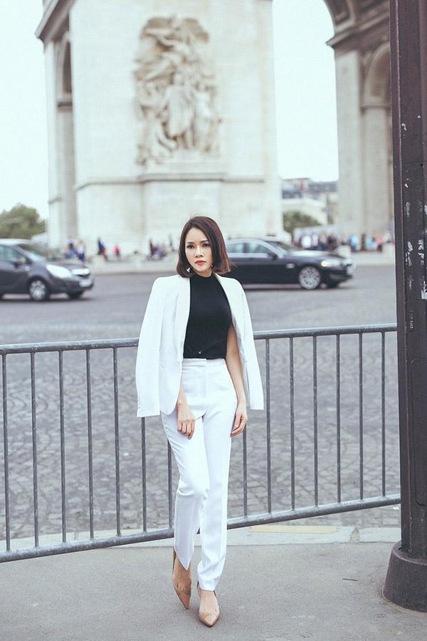 Doanh nhân Sarah Tú 'cực chất' ở Paris-5