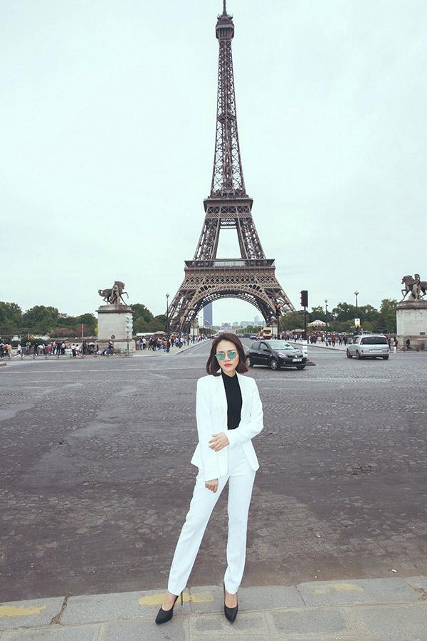 Doanh nhân Sarah Tú 'cực chất' ở Paris-7
