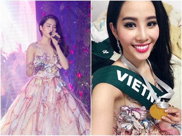 Mỹ nhân Việt nào gây ấn tượng mạnh nhất khi khoe giọng hát trên đấu trường sắc đẹp quốc tế?-5