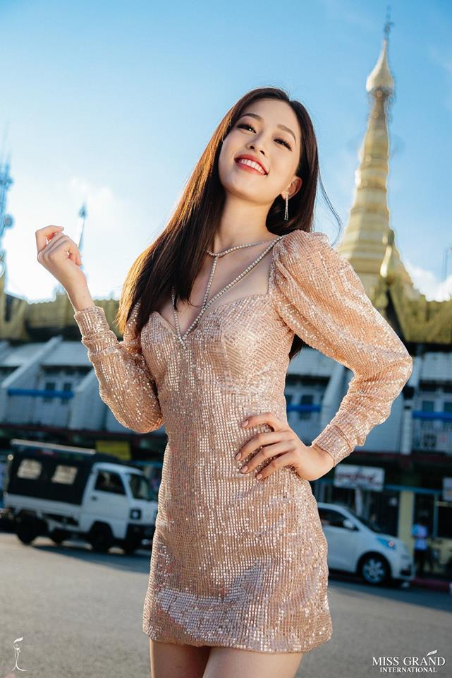 Ảnh chân dung của Bùi Phương Nga nhận bão like, share tại Miss Grand International 2018-1