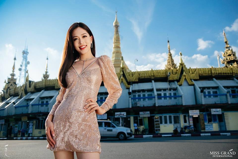 Ảnh chân dung của Bùi Phương Nga nhận bão like, share tại Miss Grand International 2018-2