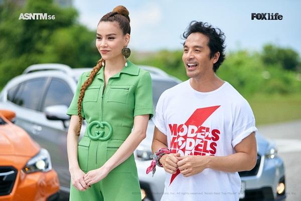 Không chỉ nói tiếng Anh lưu loát, Hồ Ngọc Hà còn thị phạm thuyết phục tại Asias Next Top Model-1