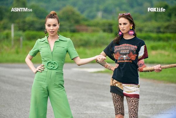 Không chỉ nói tiếng Anh lưu loát, Hồ Ngọc Hà còn thị phạm thuyết phục tại Asias Next Top Model-3