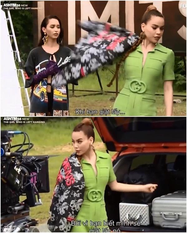 Không chỉ nói tiếng Anh lưu loát, Hồ Ngọc Hà còn thị phạm thuyết phục tại Asias Next Top Model-2