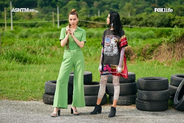 Không chỉ nói tiếng Anh lưu loát, Hồ Ngọc Hà còn thị phạm thuyết phục tại Asias Next Top Model-4