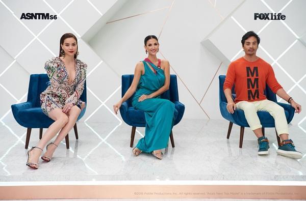 Không chỉ nói tiếng Anh lưu loát, Hồ Ngọc Hà còn thị phạm thuyết phục tại Asias Next Top Model-11