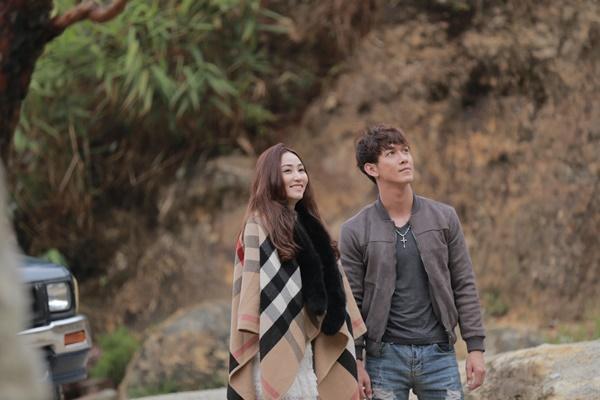 Ngân Khánh và Song Luân hẹn hò lãng mạn ở Tuyệt Tình Cốc đẹp như mơ-3
