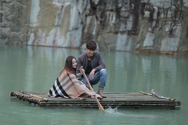 Ngân Khánh và Song Luân hẹn hò lãng mạn ở Tuyệt Tình Cốc đẹp như mơ-5