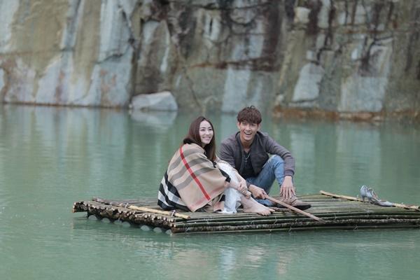 Ngân Khánh và Song Luân hẹn hò lãng mạn ở Tuyệt Tình Cốc đẹp như mơ-6