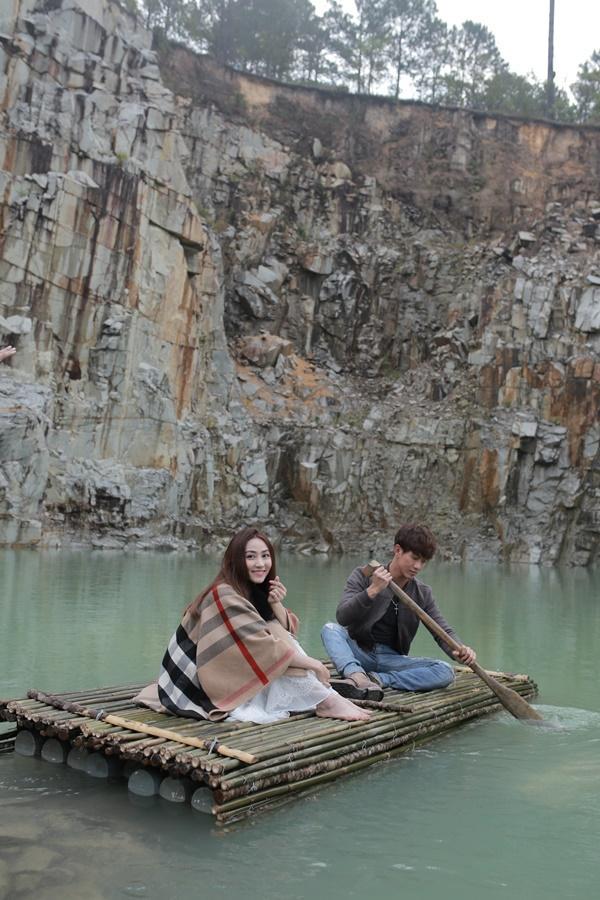 Ngân Khánh và Song Luân hẹn hò lãng mạn ở Tuyệt Tình Cốc đẹp như mơ-7