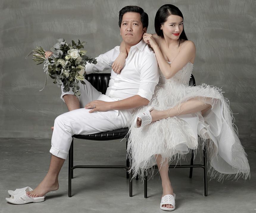Ngoài Sĩ Thanh Oh my chuối, chưa cô dâu nào dám chơi trội biến bodysuit xuyên thấu thành váy cưới-6