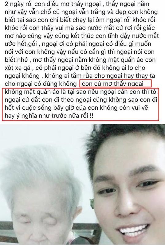 Trước khi mất, cháu ngoại quốc dân Nguyễn Ngọc Phú liên tiếp chia sẻ sự tuyệt vọng trên Facebook-3