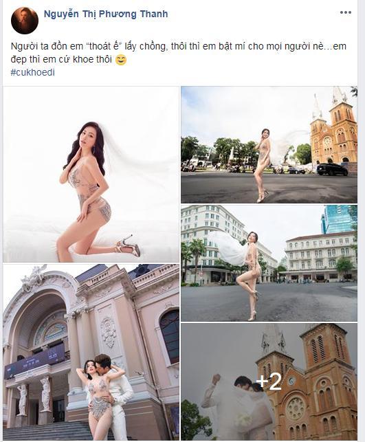 Nhiều sao Việt bộc lộ sự hoảng hốt khi xem loạt ảnh Sĩ Thanh mặc bikini ngả ngớn chốn tôn nghiêm-1
