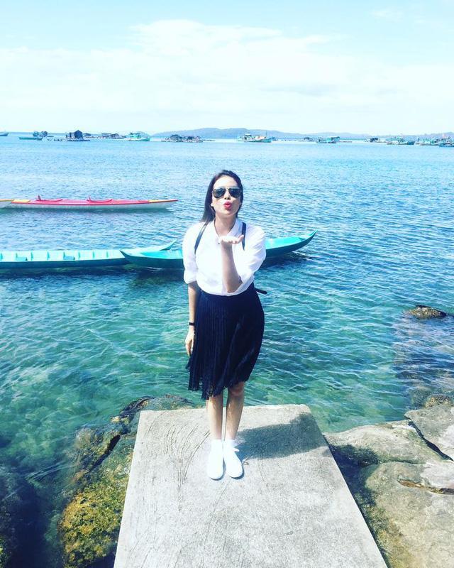 Vận đen đeo bám Phạm Hương khi ảnh hoa hậu bụng to như mang bầu năm 2016 bị dân mạng đào mộ-6
