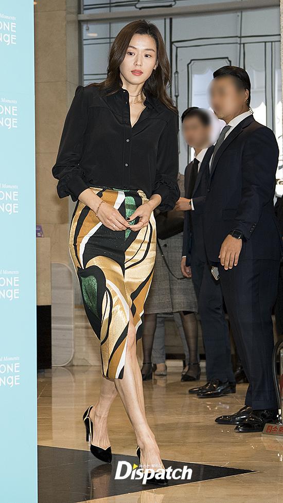 Mợ chảnh Jeon Ji Hyun dù đẹp rạng ngời vẫn mất điểm vì đôi chân gân guốc-1
