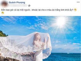 Chỉ một status 'ỡm ờ', mẹ đơn thân Quách Phượng bị nghi đã chia tay người tình thứ 2