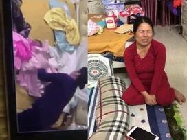 Clip người phụ nữ bịt miệng đứa bé bằng băng keo gây bão mạng