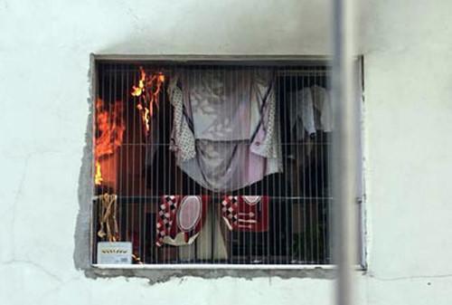 Cháy máy giặt trên tầng 31, hàng trăm cư dân HH Linh Đàm bỏ chạy-1