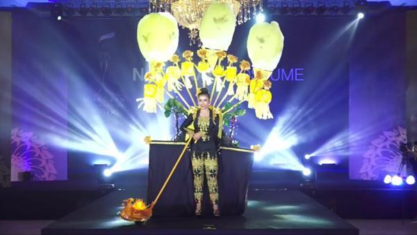 Bùi Phương Nga tỏa sáng với màn trình diễn quốc phục Ngũ Phụng Tề Phi tại Miss Grand International 2018-8