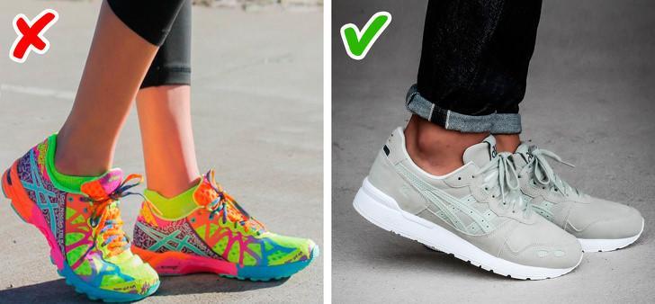 9 sai lầm khiến đôi giày của bạn trông rẻ tiền-3