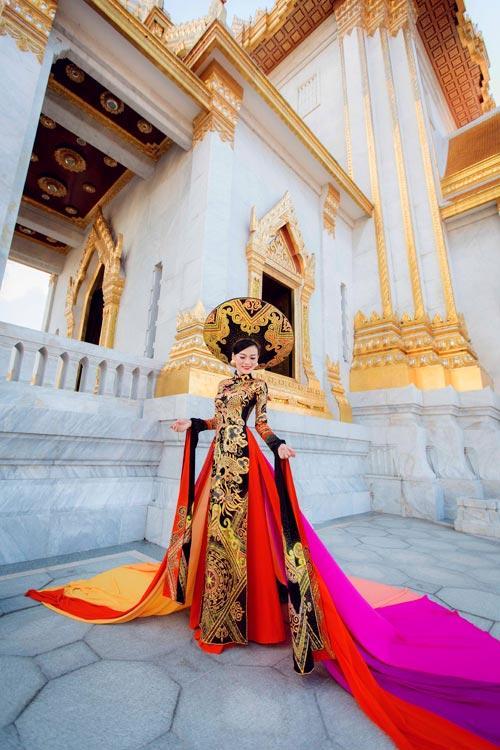 Mỹ nhân Việt trình diễn quốc phục tại Miss Grand International: Chưa ai đủ xuất sắc để vượt mặt người đẹp thi chui-3