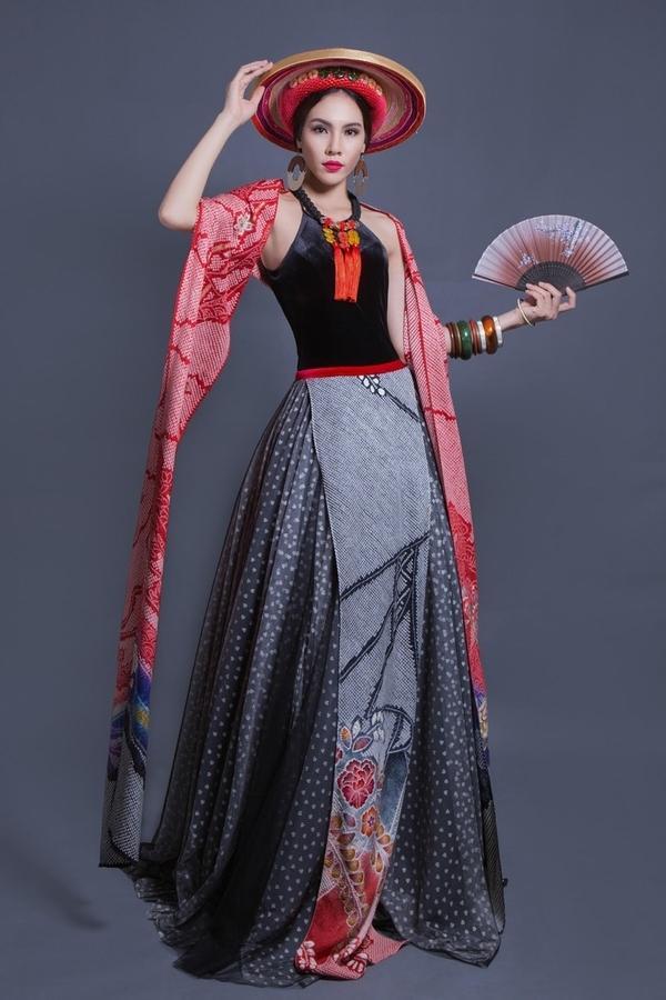 Mỹ nhân Việt trình diễn quốc phục tại Miss Grand International: Chưa ai đủ xuất sắc để vượt mặt người đẹp thi chui-5