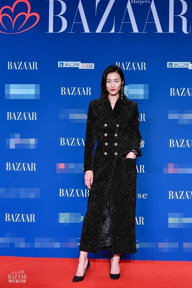 Thảm đỏ Bazaar: Dương Mịch chặt đẹp hội chị em, Hoàng hậu Đổng Khiết không kém phần quý phái-4
