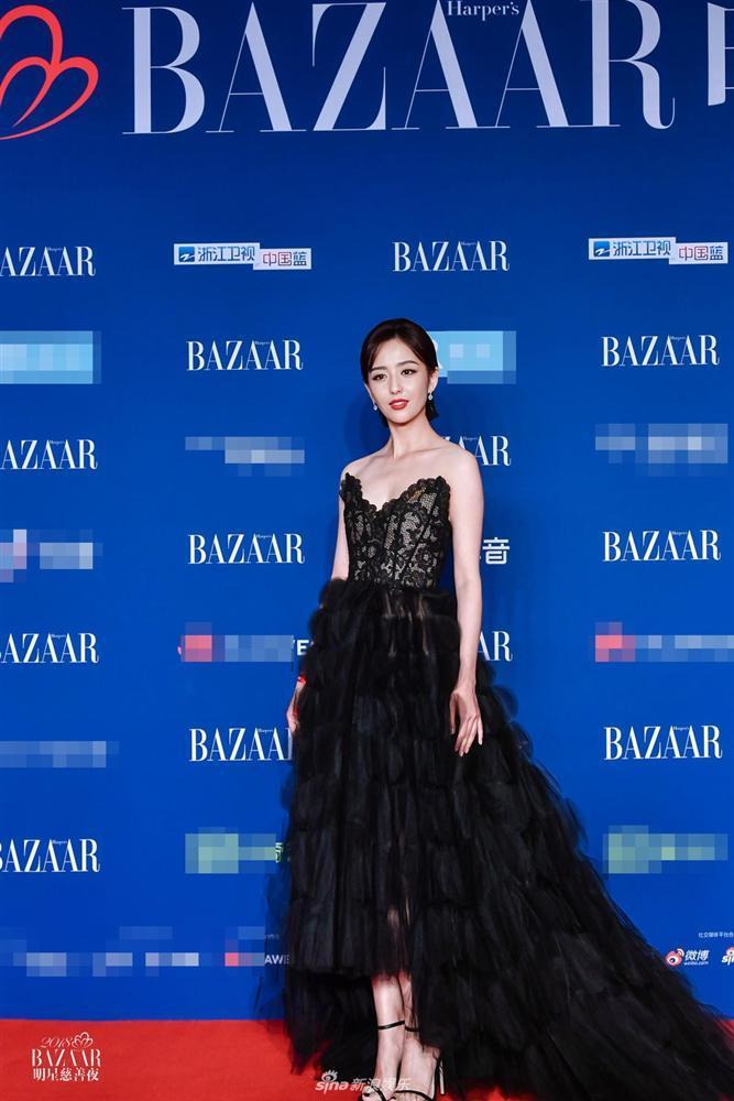 Thảm đỏ Bazaar: Dương Mịch chặt đẹp hội chị em, Hoàng hậu Đổng Khiết không kém phần quý phái-5