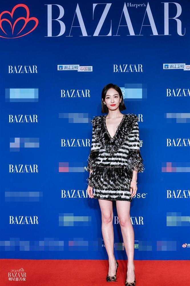 Thảm đỏ Bazaar: Dương Mịch chặt đẹp hội chị em, Hoàng hậu Đổng Khiết không kém phần quý phái-8