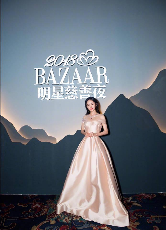 Thảm đỏ Bazaar: Dương Mịch chặt đẹp hội chị em, Hoàng hậu Đổng Khiết không kém phần quý phái-2