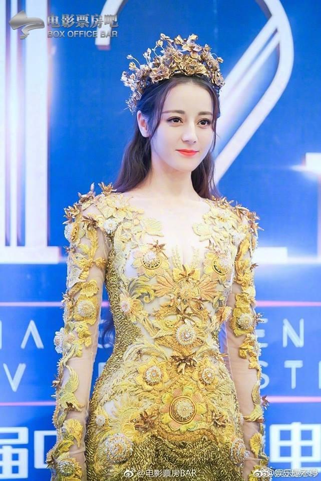 Địch Lệ Nhiệt Ba đẹp xuất sắc, chiếm top tìm kiếm khi hoá thân thành Nữ thần Kim Ưng-1