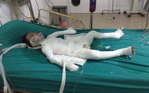 Thông tin mới nhất vụ bố dượng tẩm xăng đốt nhà ở Hà Nội-1