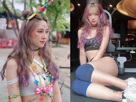 Cô gái đi xem lễ hội ca nhạc bất ngờ nổi tiếng vì quá xinh và gợi cảm