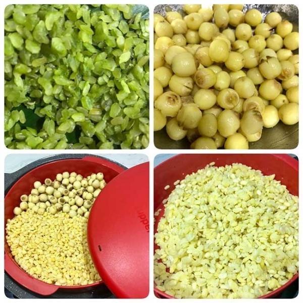 Xôi cốm hạt sen dẻo ngọt lưu trọn hương vị mùa thu-2