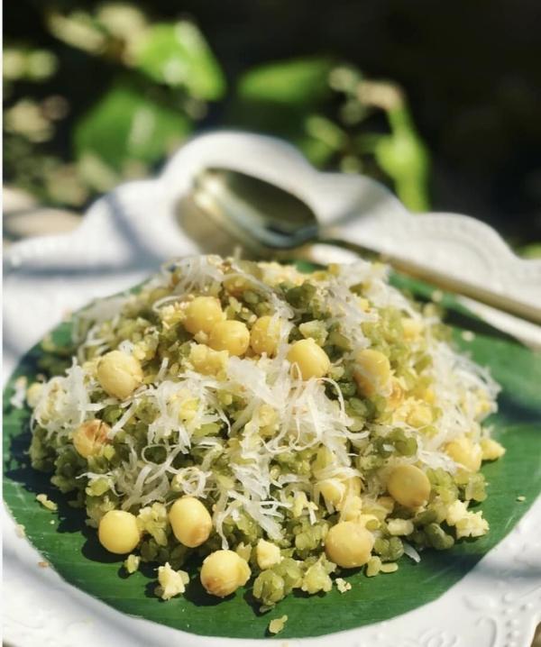 Xôi cốm hạt sen dẻo ngọt lưu trọn hương vị mùa thu-3