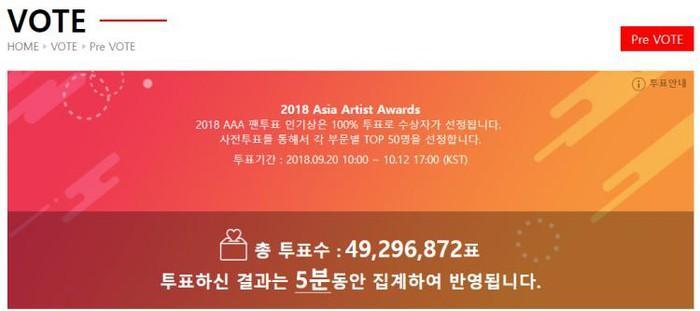 Nhóm nhạc BTS - Yoona (SNSD) cùng Sehun (EXO) thắng giải Asia Artist Awards 2018-1