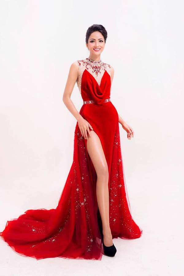 Hoa hậu người Ê Đê gia nhập đội ngũ người đẹp có vòng 3 gần 1m-1