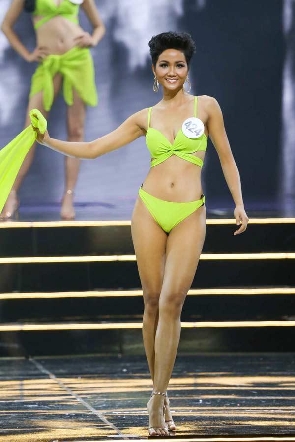 Hoa hậu người Ê Đê gia nhập đội ngũ người đẹp có vòng 3 gần 1m-2