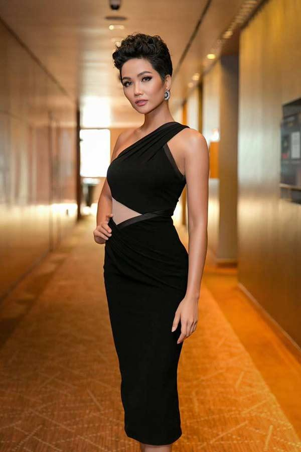 Hoa hậu người Ê Đê gia nhập đội ngũ người đẹp có vòng 3 gần 1m-4