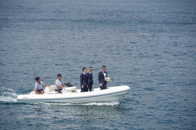 Lễ cưới trên du thuyền của tài tử TVB và người đẹp kém 13 tuổi-2