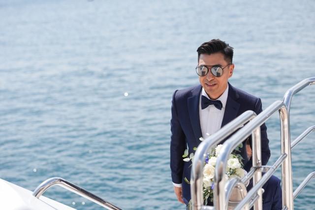 Lễ cưới trên du thuyền của tài tử TVB và người đẹp kém 13 tuổi-3