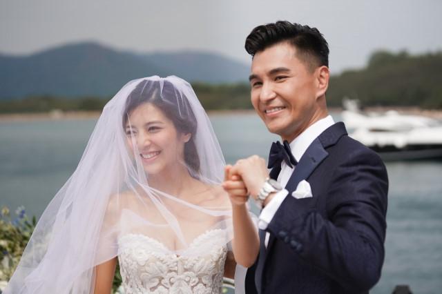Lễ cưới trên du thuyền của tài tử TVB và người đẹp kém 13 tuổi-6