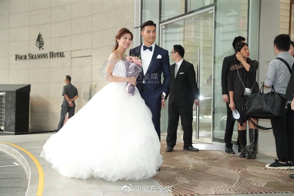 Lễ cưới trên du thuyền của tài tử TVB và người đẹp kém 13 tuổi-10