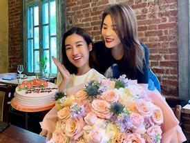 Hoa hậu Mỹ Linh cảm ơn 'bạn yêu' Kỳ Duyên đã tổ chức sinh nhật cho cô