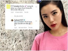 Kỳ Duyên nhanh trí tung 'đòn phủ đầu' trước khi sập bẫy spam quảng cáo trên Instagram
